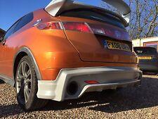 Honda Civic Mugen FN, FN2, FK Rear Bumper Splitter/Valance/Lip 2006-2011 - 3dr!