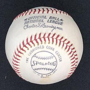 SUPER RARE Vintage Spalding Feeney ONL Official National League Baseball HAITI!!