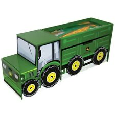 john deere children's toy box with playing surface and storage green lp53483