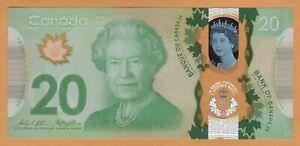 Canada $20 Dollars Commemorative 2015 UNC P-111 / BC-74 QEII Polymer Banknote