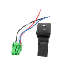 DC12V Rear Fog light Push Switch 4 Wire Button For Camry Prius Toyota Corolla