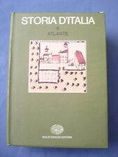 STORIA D'ITALIA-ATLANTE-EINAUDI 1976-CARTOGRAFIA-URBANISTICA-CAMPAGNA-STATISTICA