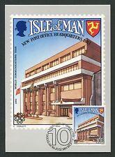 ISLE OF MAN MK 1983 POST OFFICE MAXIMUMKARTE CARTE MAXIMUM CARD MC CM m0031