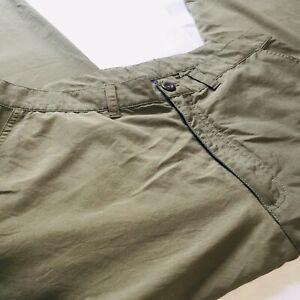 Patagonia Hiking Outdoors Lightweight Pants Green Sz 34 Men