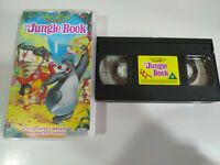 The Jungle Book Walt Disney Classics - VHS Cinta Ingles - 2T