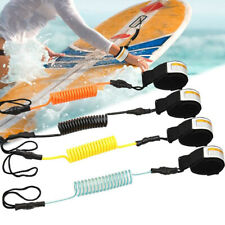 5ft Coiled SUP Surf Leash Safety Hand Rope for Stand Up Paddle Board Surfboard