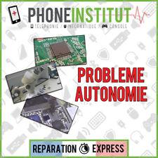 Reparation probleme autonomie iphone 4