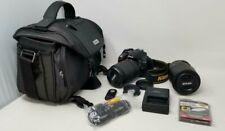 Nikon D5300 24.2MP DSLR Camera w/ 18-140mm & 55-300mm VR Lenses + Nikon Case