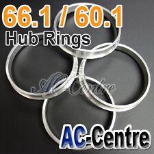 MISSION SPEED 66.1mm 60.1mm WHEEL HUB CENTRE SPACER HUB CENTRIC RING ALUMINIUM