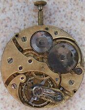 Girard Perregaux Pocket watch movement & Dial Chronometer 42 mm balance Ok.