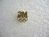 PIN'S 3M  JEUX OLYMPIQUES   PINS PIN J.O JO PHOTO SPORT U20