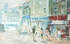 New Street Barnsley POSTCARD Yorkshire Steve Greaves Painting Art Card Landscape