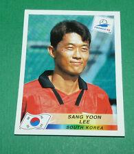 N°345 SANG YOON LEE SOUTH KOREA PANINI FOOTBALL FRANCE 98 1998 COUPE MONDE WM