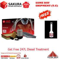 Sakura 4WD Filter Kit For NISSAN NAVARA D23, NP300 YS23DDT 2.3L 05/2015-ON