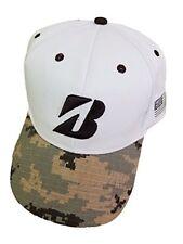 Bridgestone Golf Hat, Camoflage/white adjustable strap, New,