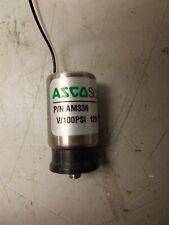 Asco Scientific Valve P/N: AM336 V/100PSI 1206 12DC