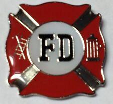 FIRE DEPARTMENT FD LAPEL PIN HAT TAC NEW