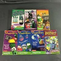 Veggie Tales VHS Lot of 7 Tapes