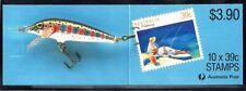 Australia (Scott 1109A) - 1989 Sports - Fishing (Booklet) - Mnh