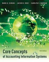 Core Concepts Of Accounting Information Systems by Mark G Simkin