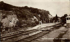 Tylwch Railway Station near Llanidloes in Rogers' Series, Llanidloes.
