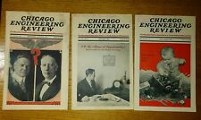 Chicago Engineering Review 1928 Three Issues