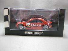 Mercedes-Benz C-Class DTM Red  MINICHAMPS 1:43 Scale Diecast Model Car
