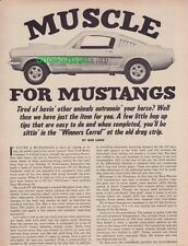 1966 Shelby GT350 - Mel Burns Ford + 1966 Chevy Corvair - Tom Sturm 427 Corvair!