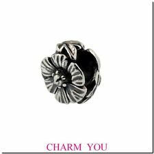Authentic Trollbeads Sterling Silver 12304 ROSE