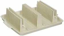 Bacon Wave Tray Microwave Meat Cooker Rack Skewers Pan Fryer Less Fat Stack
