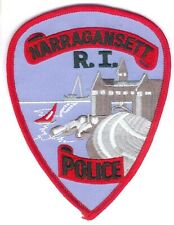 USA Patch Narragansett R.I. Water Police, Stoff I/II