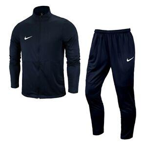 Nike Men DRY Park 18 Track K Suit Set Navy Jacket Pant Casual Jersey AQ5065-451