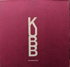 KUBB - Somebody Else (Limited Edition CD '05) Alcatraz/2 Exclusive Lyrics Cards