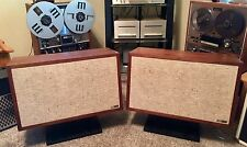 Utah A-90 Stereo Speakers 3-Way Walnut Cabinets Made In USA Pro Pack Free Ship