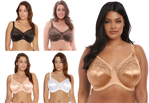 Elomi Cate Bra Underwire Bra Full Cup Banded 4030 Ladies New Various Size Colour