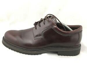 Cole Haan Country Oxford Men's 11.5 Burgundy Waterproof Shoe C01094 Sz 11.5 M