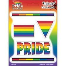 Lesbian Gay Pride Rainbow Sticker Value Pack 5 SMALL STICKERS LGBTQ