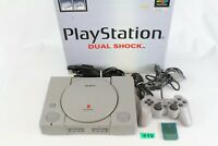 Sony PlayStation 1 PS1  Console System SCPH-7000 box japan tested working G3D