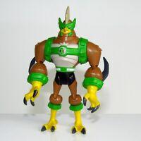 "BEN 10 Ultimate Alien ~ Kickin Hawk   4"" Bandai Action Figure"