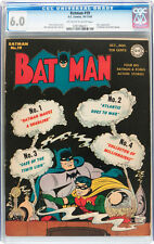 Batman #19 CGC 6.0 1943 Joker! 1st Batman art by Sprang! JLA Superman E9 cm