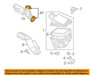 JAGUAR OEM 04-09 XJ8 4.2L-V8 Air Cleaner Intake-Air Tube Clamp C2N2334