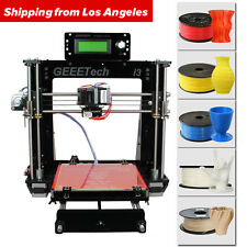US Seller Geeetech Pro B 3d printer DIY kit print 5 material MK8 metal holder