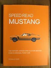 Speed Read Mustang.  Donal Farr.  Cars. 208