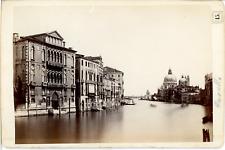 Italia, Venezia, Canal Grande, Palazzo Cavali e S.M. della Salute  Vintage album