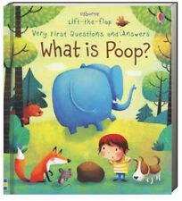 Usborne Lift The Flap Very First Questions and Answers What is Poop (bb) NEW