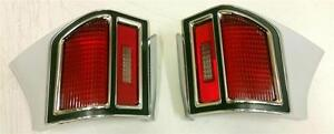 1969 Chevrolet Chevy Chevelle Tail Light Lamp Assembly Pair Left + Right