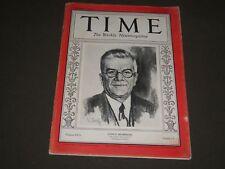 1931 JANUARY 19 TIME MAGAZINE - GERARDO MACHADO FRONT COVER - O 7716