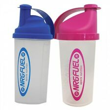 Brand New Unused NRG Fuel Sports Nutrition Bottle Mixer Shaker 700ml Blue