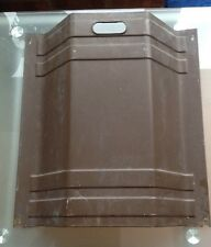"""Vintage Copper Look Steel Fire guard Screen Possibly! 18"""" X 16"""" Wide, Used"""