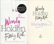 Filthy Rich - Wendy Holden - Headline Review - SIGNED - Good - Hardcover